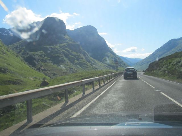 Glen Coe - and the compulsory lorry