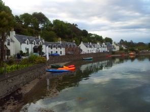 Harbour St Plockton June 20th 8.20pm