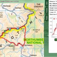 Classic Cheviots Circuit from Slymefoot, Barrowburn, Border Ridge, Windy Gyle, Lamb Hill and Wild Goats. (15 miles)