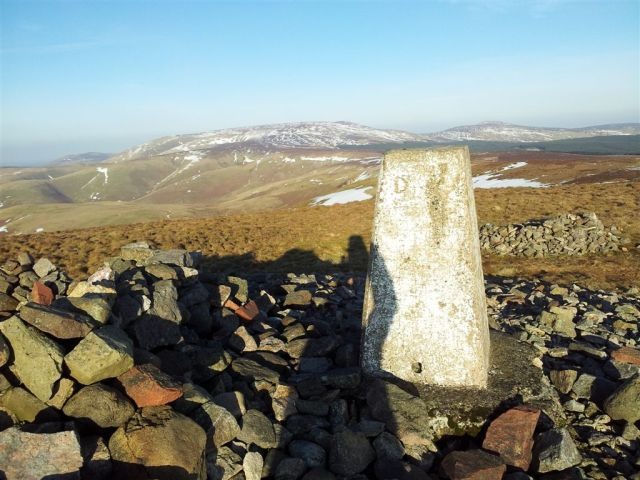 Windy Gyle 2,031ft (619 metres)