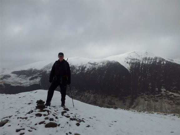 Grisedale Pike clear - for a minute at least