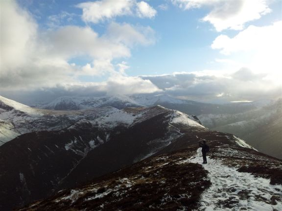 High Stile & Red Pike in the distance, this really is pure fun