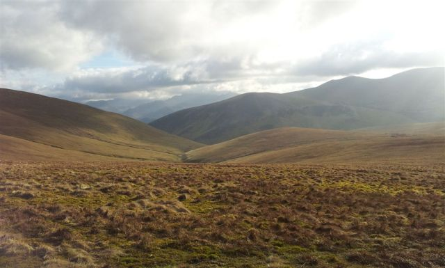 On the way to Blencathra, views west just to Derwent - 7.15pm