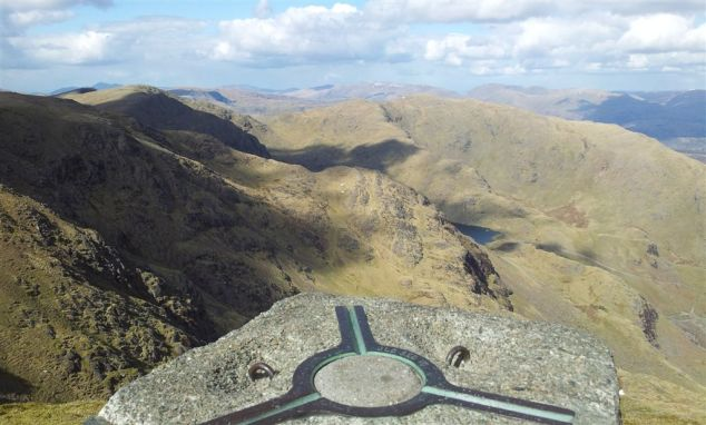 Old Man Summit Pillar to Wetherlam