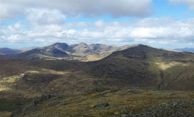 The Sca Fells From Grey Friar