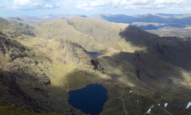 View from Coniston Old Man