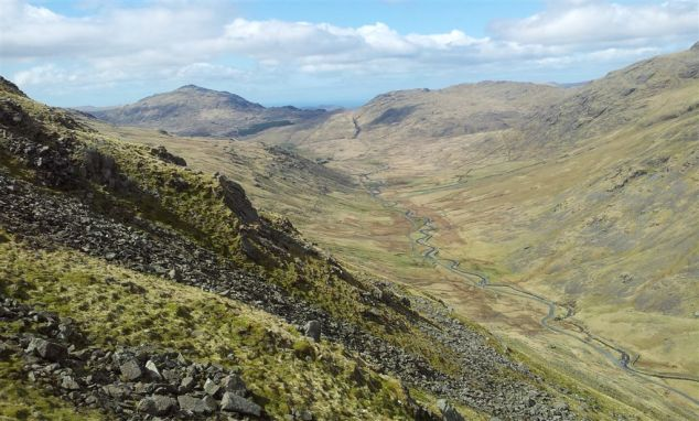 Wrynose Bottom, Harter Fell