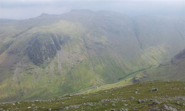 From Base Brown to Glaramara with Stockley Bridge down below!