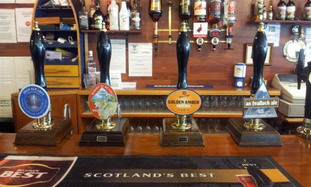 Morfields Motel Beer Choice, I tried the Sheepshagger & An Teallach