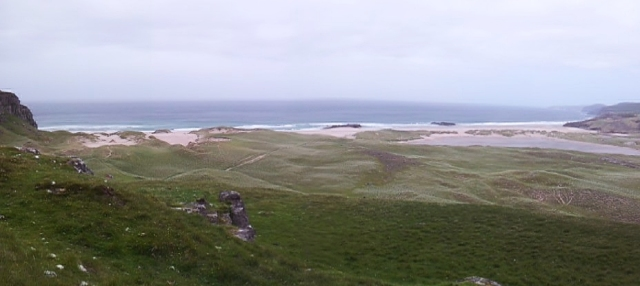 Sandwood Bay panorama
