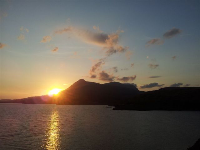 Quinag Sunset
