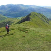 Warm Western Wainwrights - Whiteside, Hopegill Head, Grasmoor, Wandope, Whiteless Pike and Rannerdale Knotts