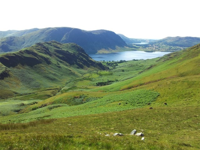 Rannerdale, Crummock Water & distant Loweswater