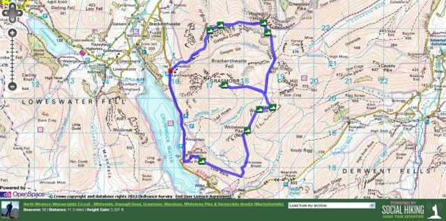 North Western Wainwrights Route