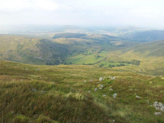 View down to Dowthwaitehead