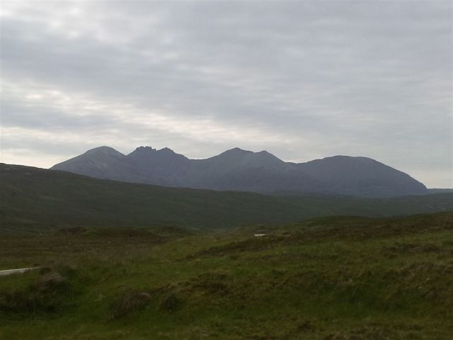 An Teallach from the Destitution Road