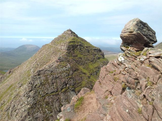 From First Pinnacle over Lord Berkeleys Seat to Sgurr Fiona