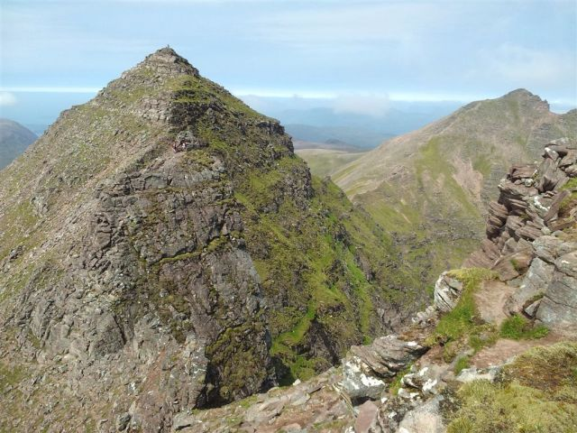From the First Pinnacle over Lord Berkeleys Seat to Sgurr Fiona