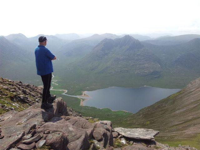 Loch na Seagla and Beinn Dearg Mor
