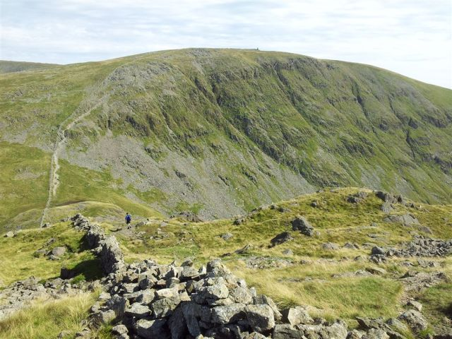 Stony Cove Pike, over Threshthwaite Mouth to Thornthwaite Crag