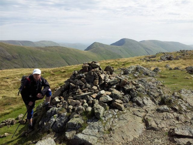 Stony Cove Pike to sth Kentmere - Froswick Ill Bell & Yoke