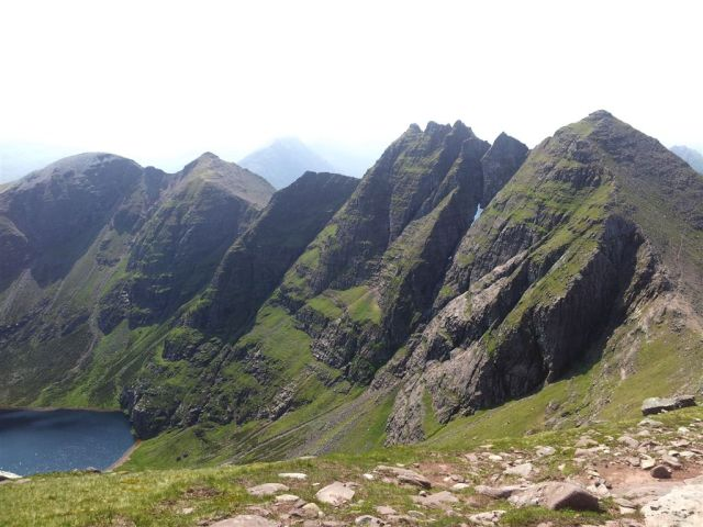 The emotional view of An Teallach from Bidein a Ghlas Thuill
