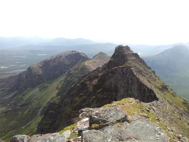 The view from Sgurr Fiona over Lord Berkeleys Seat to Corrag Bhuidhe