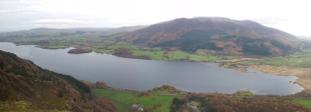 Bassenthwaite panorama from Barf