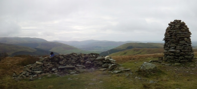Broom Fell looking west towards Greystones