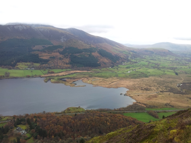 Down to the A66 and up to Carl Side & Skiddaw