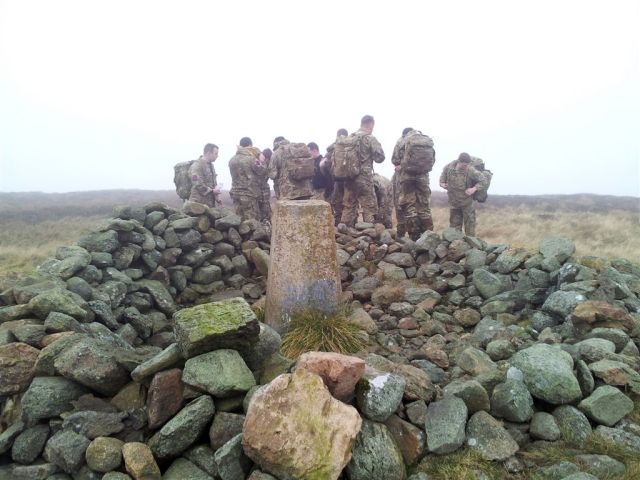 On Shillhope Law in cloud, alone with the British Army