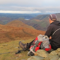 Late Sun in the North East Lakes - Beda Fell, Rest Dodd and The Nab, plus Hallin Fell by Headtorch