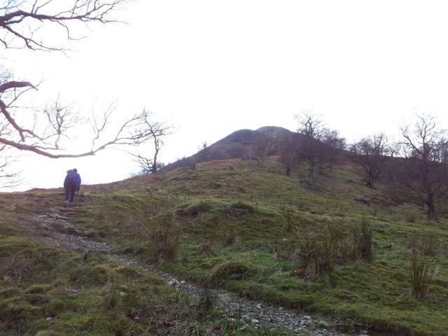 Alan ascending. Birks