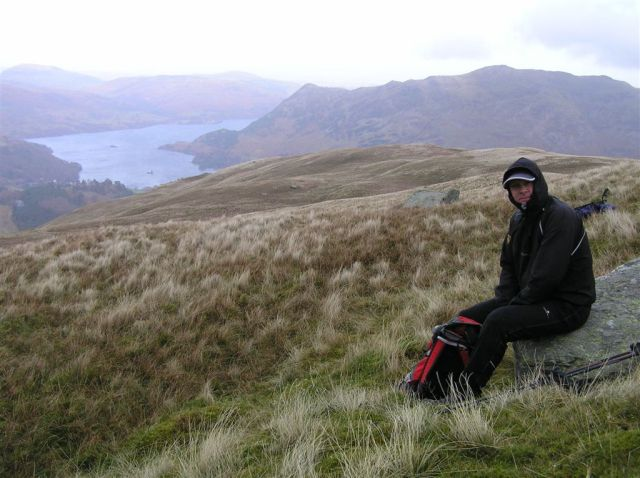 Getting a bit nippy, Place Fell & Ullswater