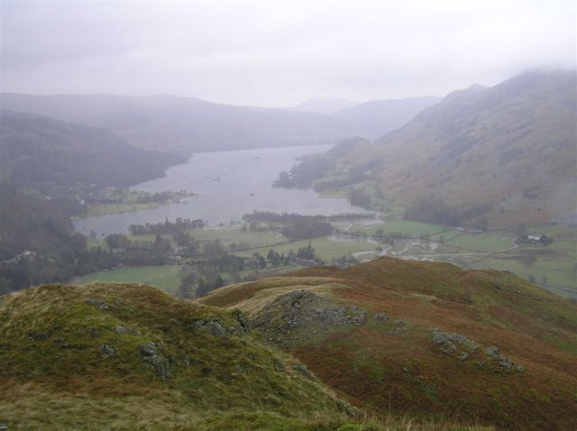 Ullswater & a glimpse of Meall Fell
