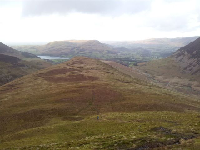 Alan's buggered off down there! Loweswater & Kirkstile Inn also