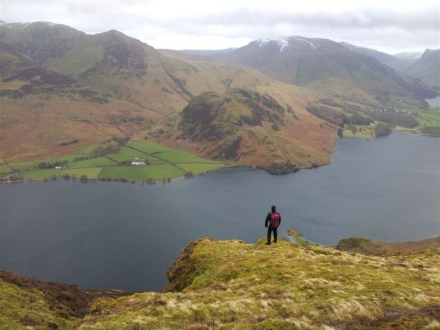 And even better with me - across to Rannerdale Knotts
