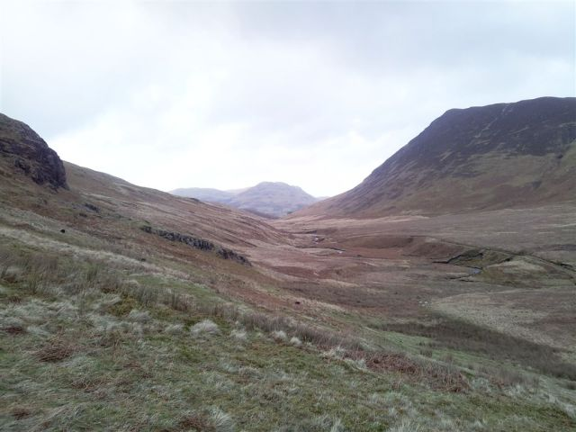 Looking back north to distant Low Fell