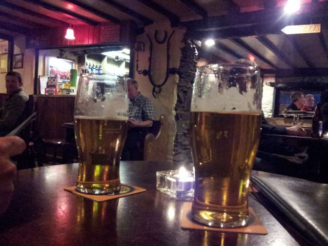 Loweswater Gold at the Kirkstile Inn, everything a proper pub should be