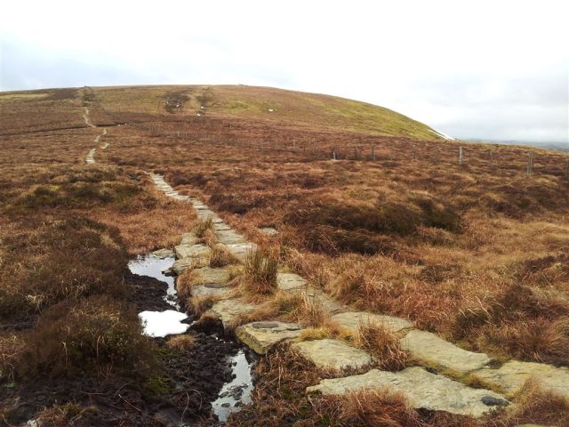 Some snow on the paved section up to Windy Gyle