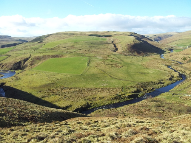 South over the Coquet from Peth Path
