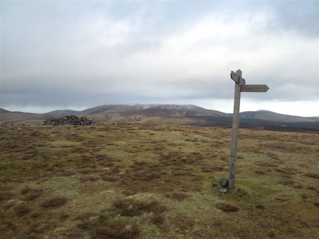 Windy Gyle to The Cheviot