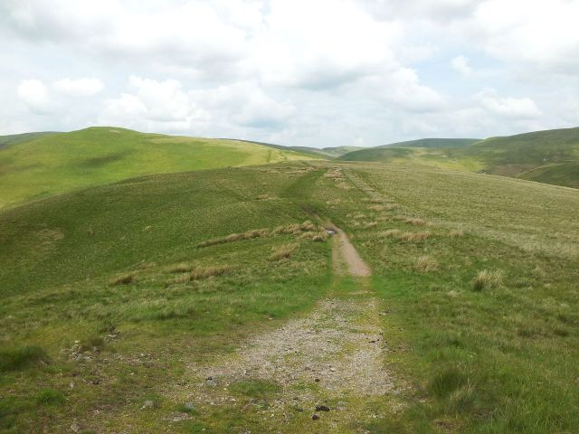 Windy Gyle from Wedder Leap, Coquet Valley, Cheviots_10