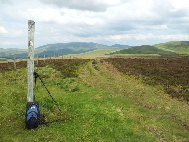 Windy Gyle from Wedder Leap, Coquet Valley, Cheviots_13
