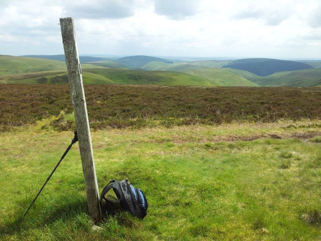 Windy Gyle from Wedder Leap, Coquet Valley, Cheviots_14