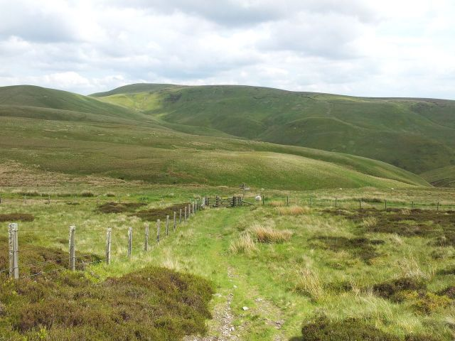 Windy Gyle from Wedder Leap, Coquet Valley, Cheviots_15