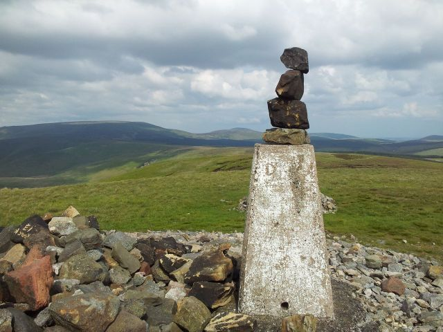 Windy Gyle from Wedder Leap, Coquet Valley, Cheviots_21