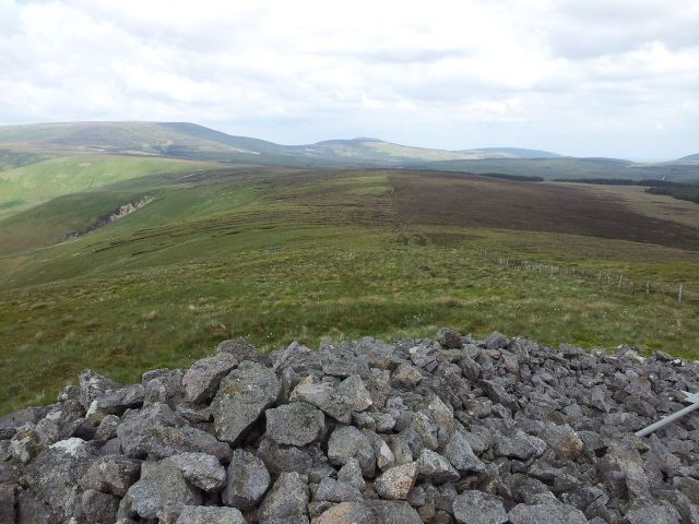 Windy Gyle from Wedder Leap, Coquet Valley, Cheviots_25