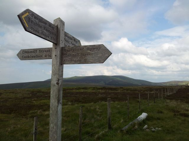 Windy Gyle from Wedder Leap, Coquet Valley, Cheviots_26