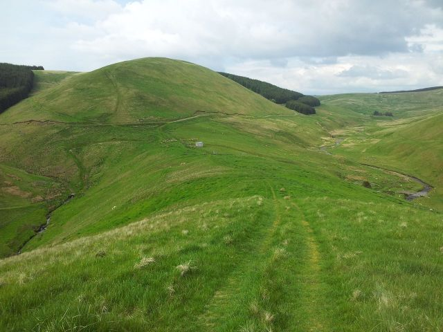 Windy Gyle from Wedder Leap, Coquet Valley, Cheviots_32